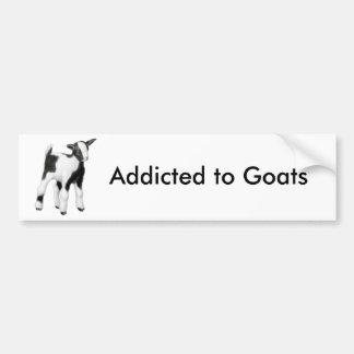 Autocollant De Voiture Dépendant à l'adhésif pour pare-chocs de chèvres