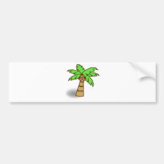Autocollant De Voiture Dessin de palmier