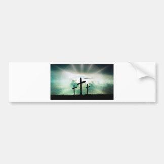 Autocollant De Voiture Dieu croisé Jésus de foi du Christ opacifie la