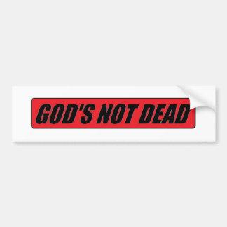 Autocollant De Voiture Dieu non mort