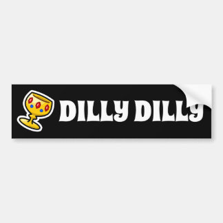 Autocollant De Voiture Dilly Dilly