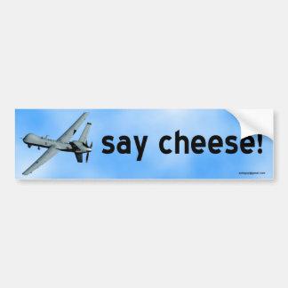 Autocollant De Voiture dites le fromage !