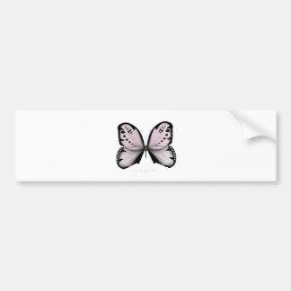 Autocollant De Voiture Domestique rose de marais de papillon rose