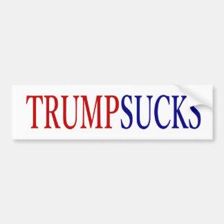Autocollant De Voiture Donald Trump suce # président