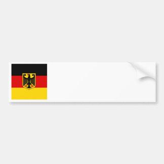 Autocollant De Voiture Drapeau allemand