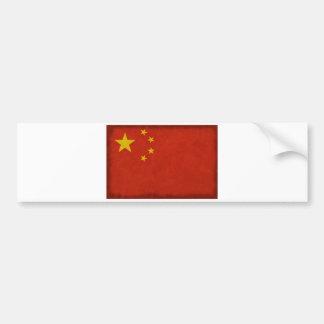Autocollant De Voiture Drapeau Chinois