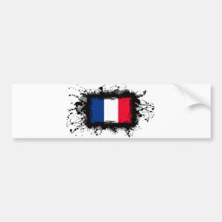 Autocollant De Voiture Drapeau de la France