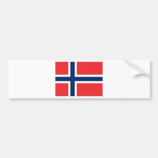 Autocollant De Voiture Drapeau de la Norvège