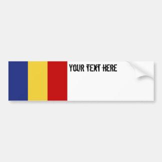 Autocollant De Voiture Drapeau de la Roumanie