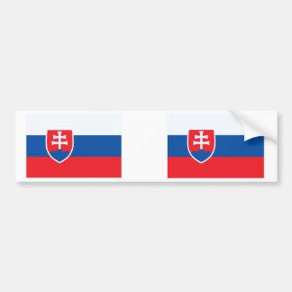 Autocollant De Voiture Drapeau de la Slovaquie