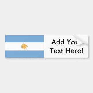 Autocollant De Voiture Drapeau de l'Argentine