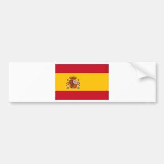 Autocollant De Voiture Drapeau de l'Espagne