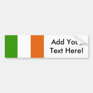 Autocollant De Voiture Drapeau de l'Irlande
