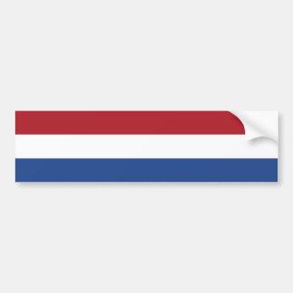 Autocollant De Voiture Drapeau de Pays-Bas