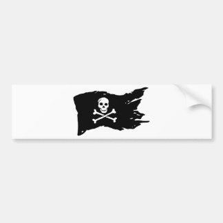 Autocollant De Voiture Drapeau de pirate