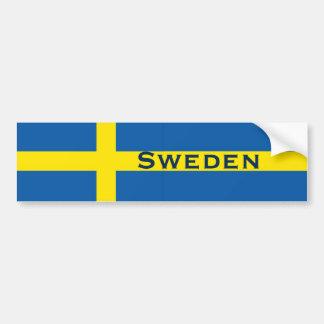 Autocollant De Voiture Drapeau de Suédois de la Suède
