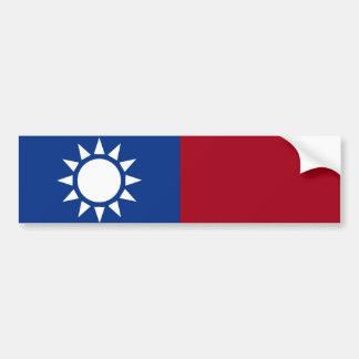 Autocollant De Voiture Drapeau de Taïwan République de Chine