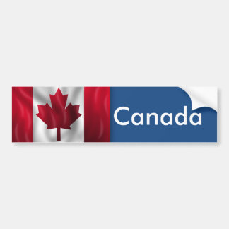 Autocollant De Voiture Drapeau du Canada