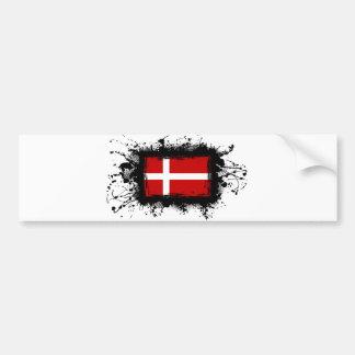 Autocollant De Voiture Drapeau du Danemark