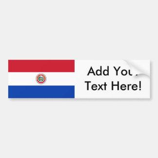 Autocollant De Voiture Drapeau du Paraguay