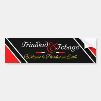 Autocollant De Voiture Drapeau du Trinidad-et-Tobago