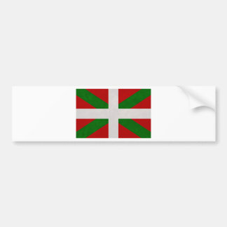 Autocollant De Voiture Drapeau Pays Basque Euskadi