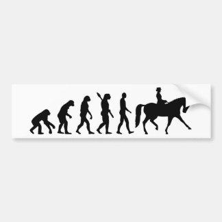 Autocollant De Voiture Dressage d'évolution