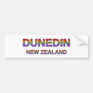 Autocollant De Voiture Dunedin fier, Nouvelle Zélande
