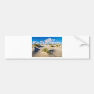 Autocollant De Voiture Dunes sur l'île Amrum de la Mer du Nord