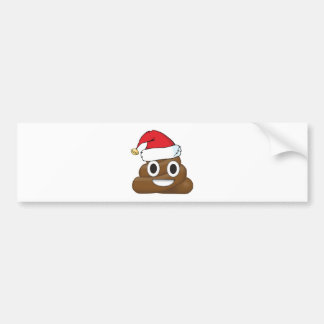 Autocollant De Voiture Dunette hilare Emoji de Noël
