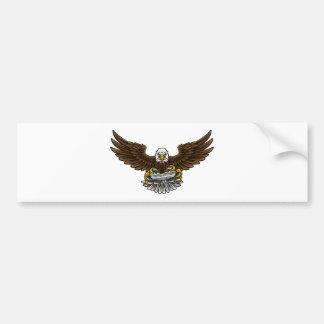 Autocollant De Voiture Eagle Esports folâtre la mascotte de Gamer