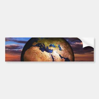 Autocollant De Voiture earth-216834 PLANÈTES de l'IMAGINAIRE