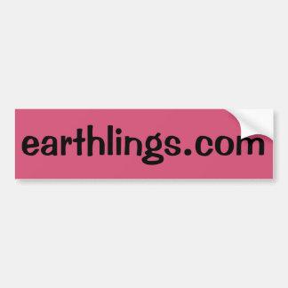 Autocollant De Voiture Earthlings.com