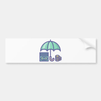 Autocollant De Voiture Économiser pendant un jour de pluie