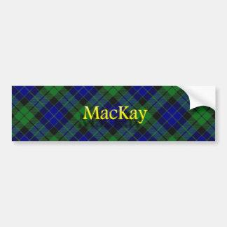 Autocollant De Voiture Écossais de MacKay de clan