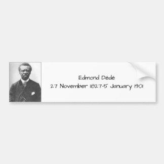 Autocollant De Voiture Edmond Dédé