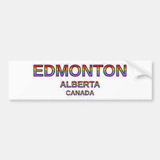Autocollant De Voiture Edmonton fier, Alberta, Canada