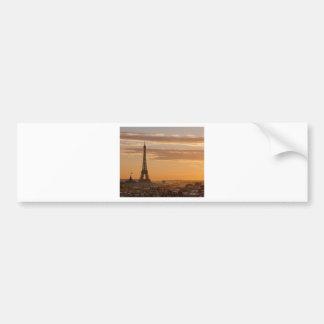 Autocollant De Voiture Eiffel Tower, Paris, France