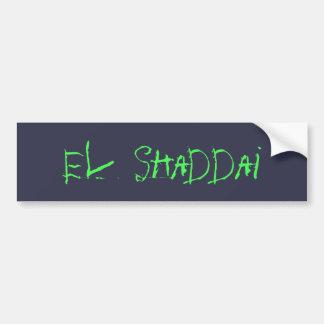 Autocollant De Voiture EL Shaddai