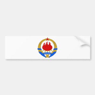 Autocollant De Voiture Emblème socialiste de la République fédérale de