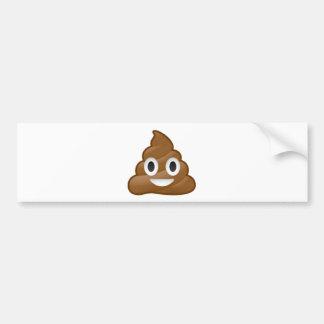Autocollant De Voiture Emoji de dunette
