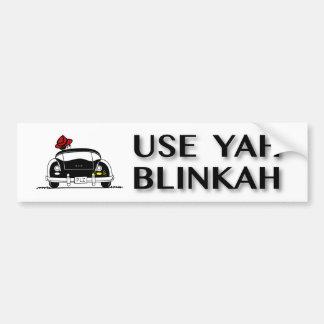 Autocollant De Voiture Employez Yah Blinkah