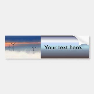 Autocollant De Voiture Énergie de substitution - énergie éolienne dans