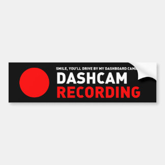 Autocollant De Voiture Enregistrement de Dashcam