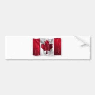 Autocollant De Voiture Érable canadien de feuille d'emblème de pays de