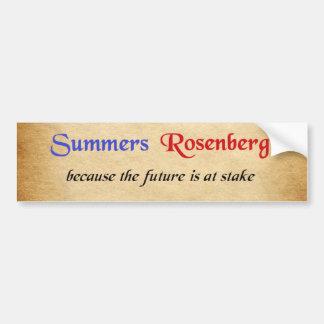 Autocollant De Voiture Étés/autocollant campagne de Rosenberg