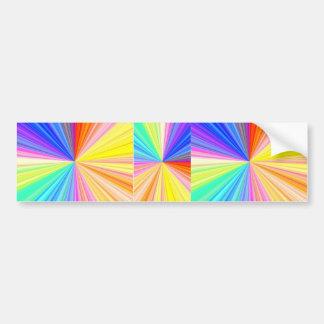 Autocollant De Voiture Étincelle de ColorWheel - appréciez la joie de