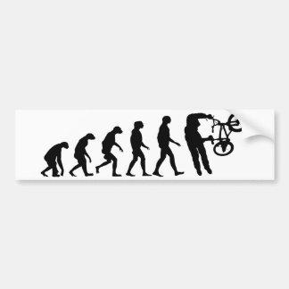 Autocollant De Voiture Évolution de BMX