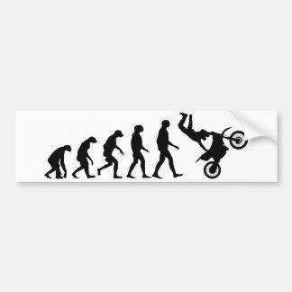 Autocollant De Voiture Évolution de motocross