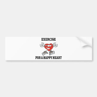 Autocollant De Voiture exercice heart2